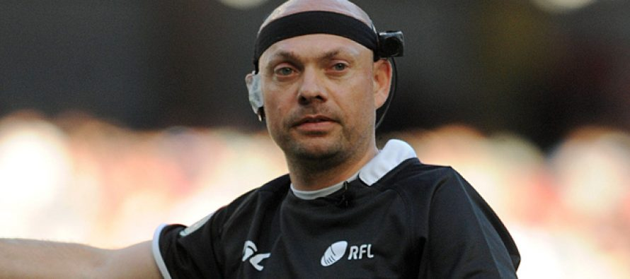 Challenge Cup: Phil Bentham to referee final