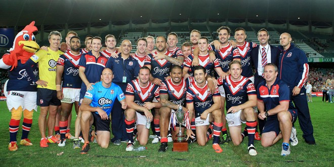 McNamara with the Sydney Roosters. ©Action