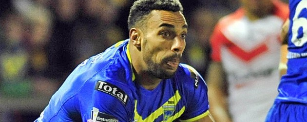 Ryan Atkins could return for Warrington on Sunday