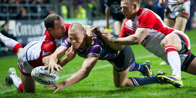 First-half report: St Helens 14-20 Wigan Warriors