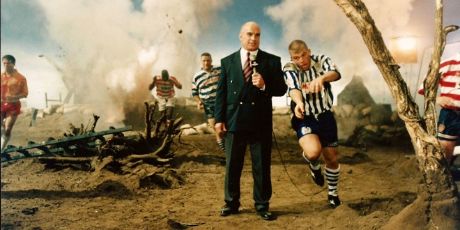 One of Sky's first Rugby League promotions, which featured Stevo.