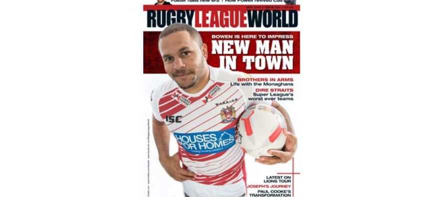 Get the new Rugby League World Magazine!