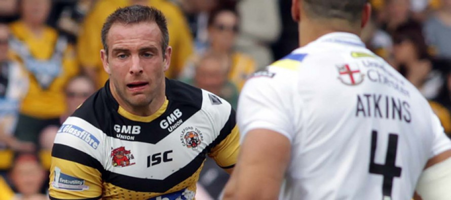 Pressure on us, says Castleford Tigers star