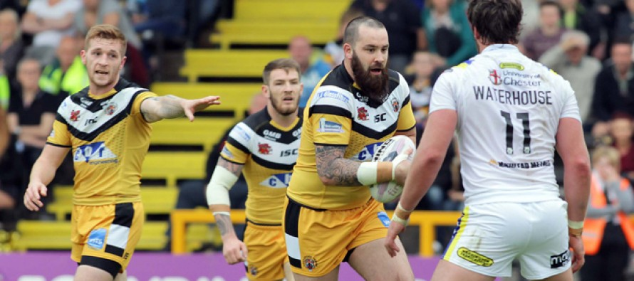 Castleford Tigers prop not giving up on Wembley