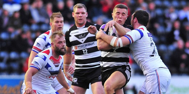 Video highlights: Wakefield Wildcats v Widnes Vikings