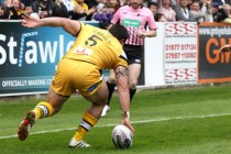Lineham hat-trick, but Tigers take the spoils
