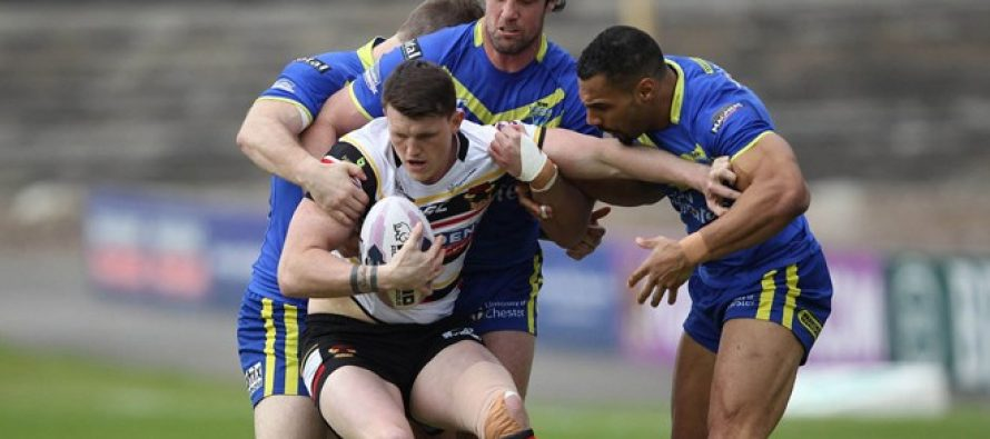 Video highlights: Warrington Wolves v Bradford Bulls