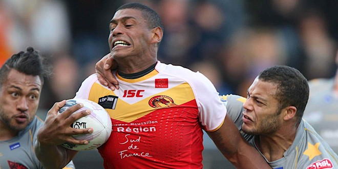 Match report: Catalan Dragons 37-24 Salford Red Devils