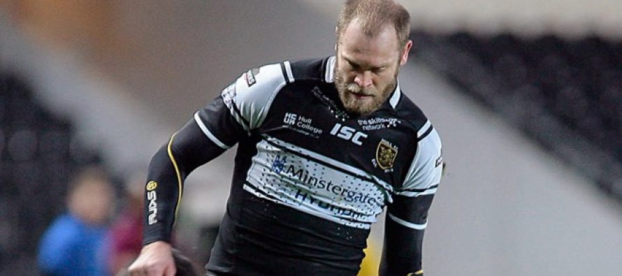 Hull FC star Richard Whiting's season over