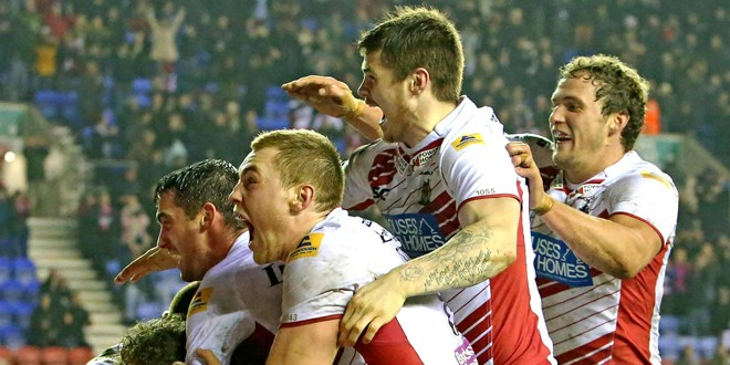 Codes collide as Wigan and Bath train together