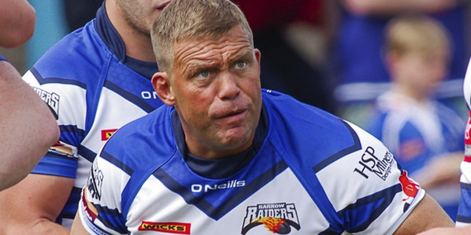 Goulding's son signs for Barrow Raiders