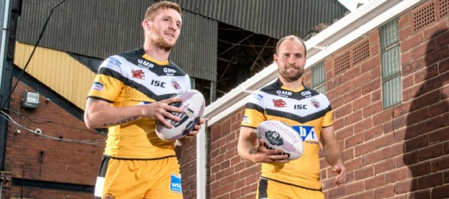 Interview: Castleford half-backs Marc Sneyd and Liam Finn