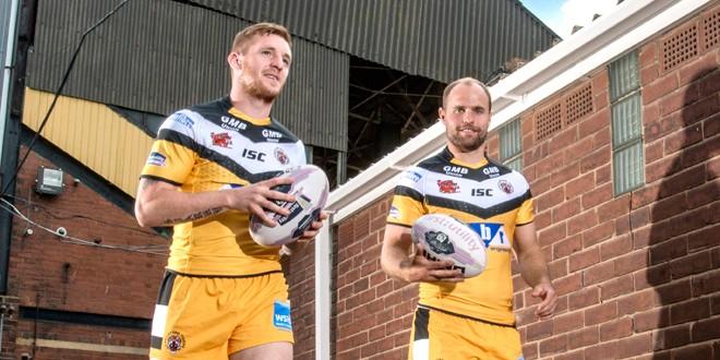 Interview: Castleford half-backs Marc Sneyd and Liam Finn