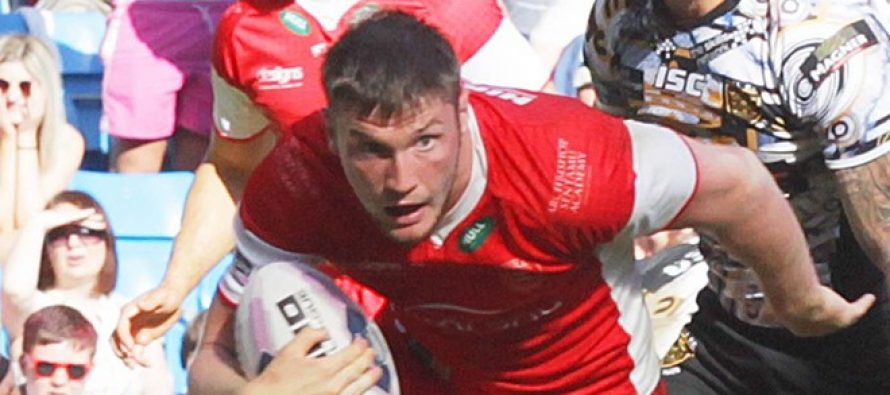 Rovers: Liam Salter relished Rhinos clash