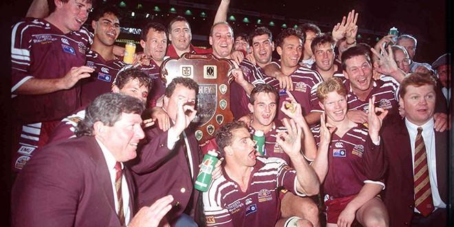 Queensland celebrate in 1995