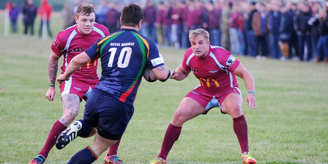 Marines and Paras ready for Trafalgar Cup battle