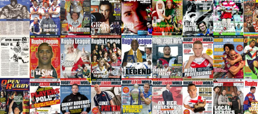 Rugby League World & Open Rugby – All 400 Covers