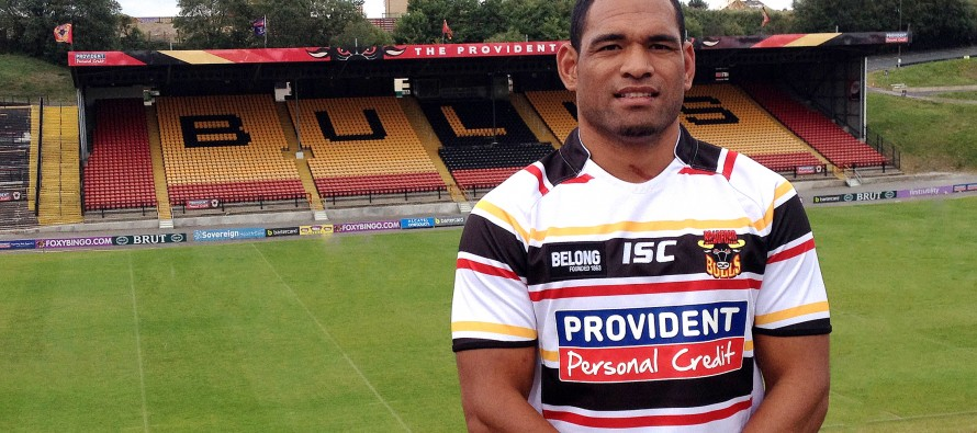 Bradford Bulls land Tongan international Uaisele