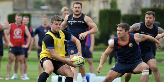 Gallery: Wigan Warriors train with Bath RU