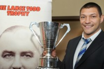 Leeds Rhinos winger toasted at Lance Todd ceremony
