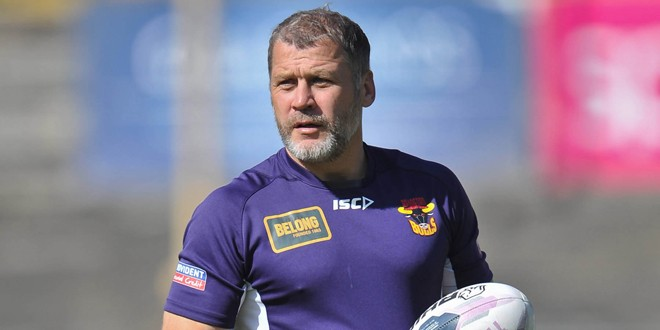 Bradford head coach Jimmy Lowes