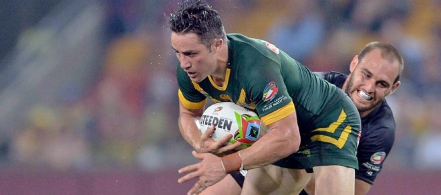 Cooper Cronk wins the 2016 Rugby League World Golden Boot