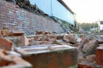 Castleford suffer stadium damage due to wind