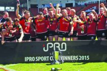 Crusaders win iPro Sport Cup with 14-8 victory