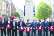 Rugby League Group lays wreath at Cenotaph