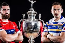 Rhinos win Challenge Cup Final by record margin as Briscoe scores five tries
