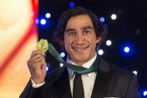 Thurston wins record fourth Dally M