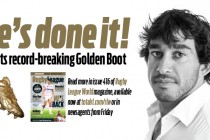 Johnathan Thurston wins record-breaking third Golden Boot