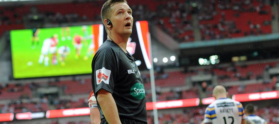 Ben Thaler to referee Dewsbury v Batley in Challenge Cup