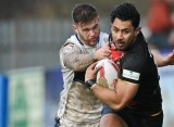 VIDEO: Chris Ulugia welcomes Rangi Chase to the Championship with huge tackle