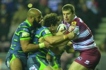 Clubb back in training at Wigan after neck surgery