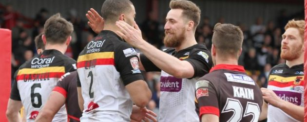 Bradford determined to finish difficult year on a high