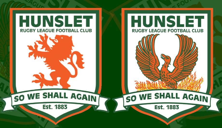 Fans were asked to vote between these two crests.