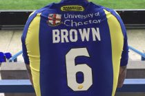 Brown takes Gidley's number six jersey