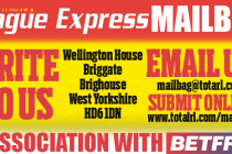 League Express Mailbag Letter of the Week