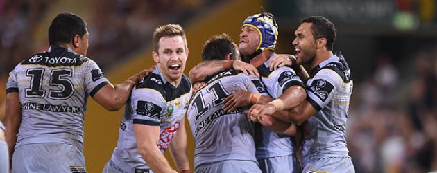 Cowboys win all-Queensland NRL clash