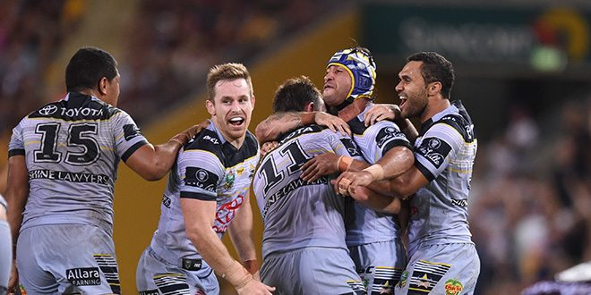 Cowboys triumph in all-Queensland NRL clash
