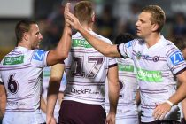 Manly snatch late victory to end Roosters' unbeaten record