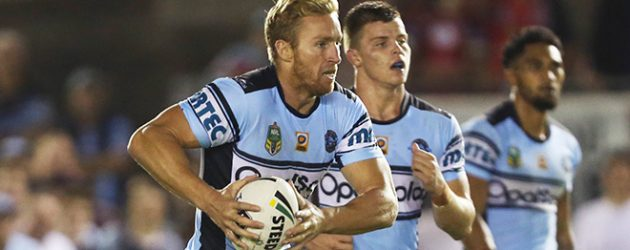 Sharks maintain play-off push with Rabbitohs victory