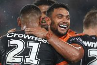 Wests Tigers dent Manly title hopes