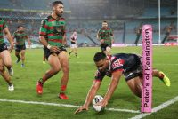 Roosters edge Rabbitohs to extend unbeaten start