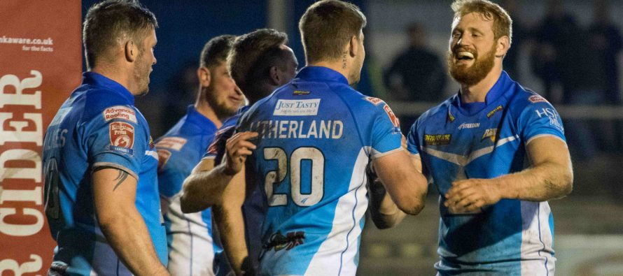 Barrow secure promotion to the Championship with victory over Whitehaven