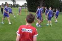 VIDEO: 8-year-old coaching applicant given experience to remember