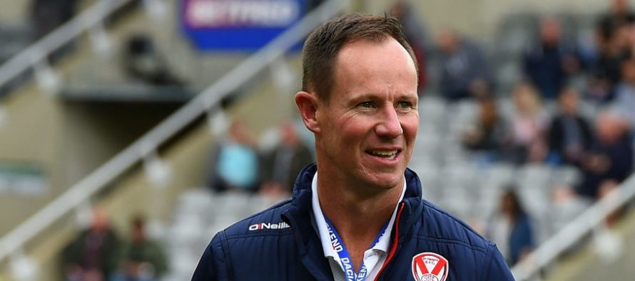 Holbrook urges St Helens to finish the job tonight at Salford