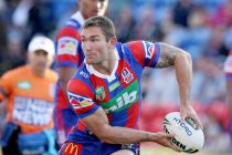 Randell in training with Wakefield