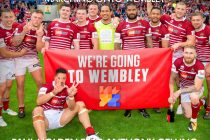 Wigan set sights on music charts with charity single